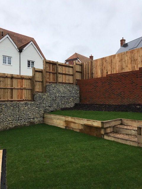 Retaining Fences to Gabion Walls