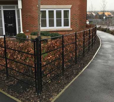 Estate Railing supply and install in Kent, UK