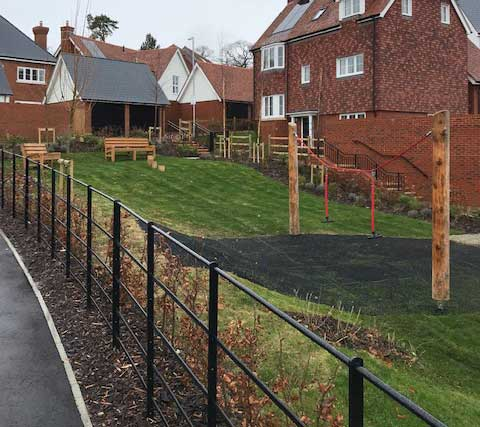 Estate Railings Communal Areas Supply and Install