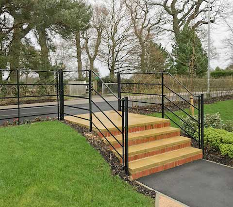 Estate Railings for public spaces