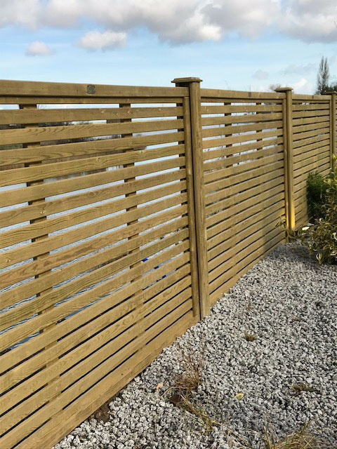 Supply and Install of Venetian Fencing from Maiford