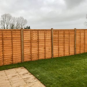 Larch Lap fencing Supply and Install from Maiford Fencing