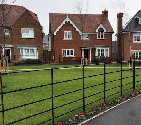 Parkland Railings Supply and Install in Kent UK