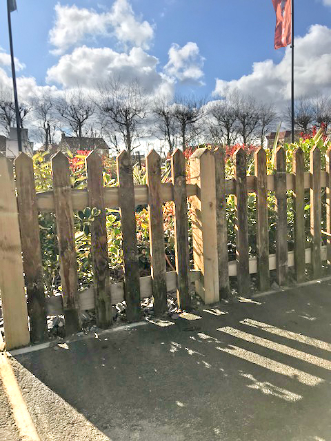 PIcket Fencing from Maiford
